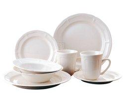 Bianca 16 Pc Dinnerware Set Service For 4