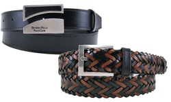 Beverly Hills Polo Club Men's Elastic Golf Belt - 34