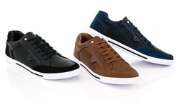 Franco Vanucci Men's Jess-2 Sneakers - Black - Size: 9.5