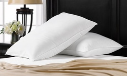 2 Pack Exquisite Hotel Signature Collection Pillows   QUEEN SIZE