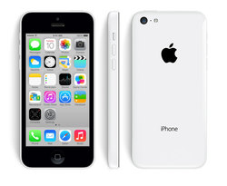Unlocked Apple iPhone 5C 16GB No-Contract Smartphone - White