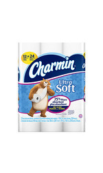 Charmin Ultra Soft Toilet Paper 154 sheets 12 double rolls 154