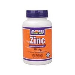 Now Foods: Zinc Immune Support 50 mg, 250 tabs