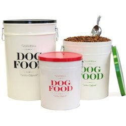 Harry Barker Food + Treats Storage Set - Bon Chien - Small, - 2 pk.