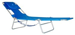 Ostrich Folding Chaise Lounge