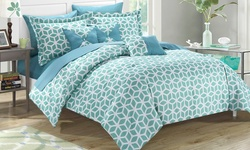 Chic Home Madelyn Comforter Set - Green - Size: Twin