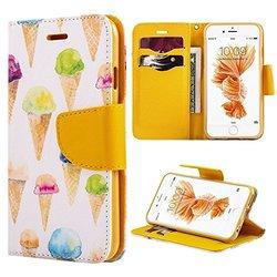 Wallet Case: Ice Cream/iPhone 6 Plus