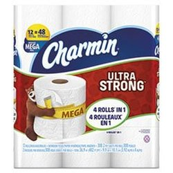 Charmin Ultra Strong Bathroom Tissue 2-Ply x3.92 308/Roll 12 Roll/Pack k/Crtn 4