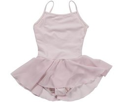 Mirella Youth Camisole Dress - Pale Pink - Size: 14
