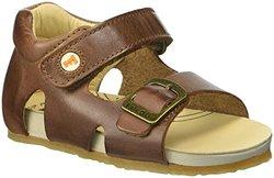 Naturino Falcotto Leather Sandal - Bark - Size: 4.5 (Toddler)