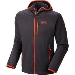 Mountain Hardwear Men's Desna Fleece Jacket - Shark - Size: Large