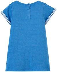Billieblush Double Fabric Jersey Dress - Bleu Marin - Size: 18 Months