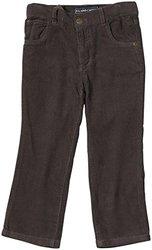 E-Land Kids 16 Wale Slim Pants (Toddler/Kid) - Dark Khaki - Size: 7
