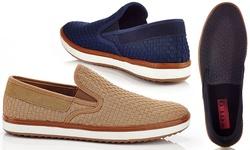 Solo Men's Warren Slip-on Sneakers - Black - Size: 10