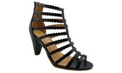 Ny Vip Ladies Sandals - Black - Size: 7.5