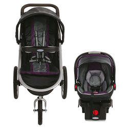 Graco FastAction Fold Click Connect Jogger Travel System Stroller - Stella