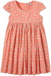 Wheat Christel Dress for Kid's - Peach - Size: 3 Years (Toddler)