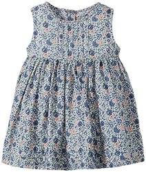 Wheat Pinafore Millie Dress for Kid's - Blue - Size: 18 Months(Baby)