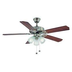 Hampton Bay YG268-BN Brookhurst 52 in. Indoor Brushed Nickel Ceiling Fan