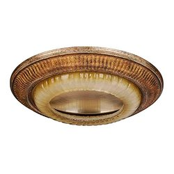 "Hampton Bay 6"" Kendallwood Creme Brulee Recessed Lighting Fixture Can Trim"