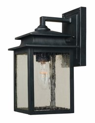World Imports WI910542 Sutton Collection 1-Light Rust Outdoor Wall Sconce