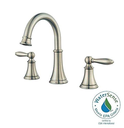 Pfister Pasadena 8 Widespread 2 Handle Bathroom Faucet Brushed Nickel