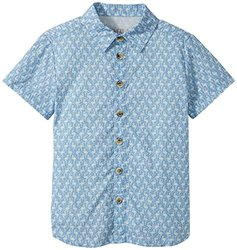 Wheat Kid's Conrad Shirt - Blue - Size: 5 Years (Toddler)