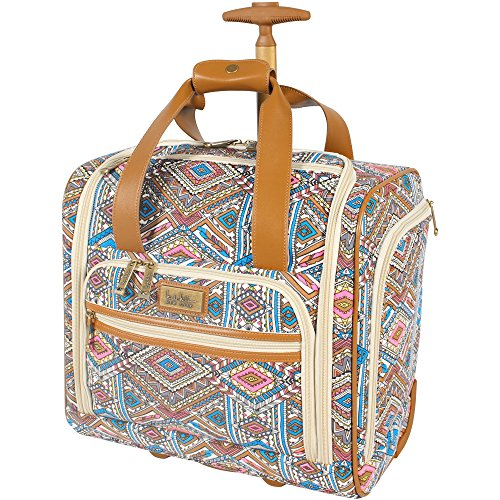 b5dab055b1d0 Nicole Miller Sedona Wheeled Bag  Under Seat Blue - Check Back Soon ...