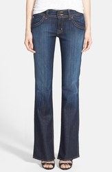 Hudson Jeans Signature Bootcut Stretch Jeans - Elm Dark - Size: 4