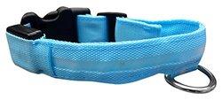 Led Collar: Blue/medium
