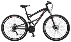 "Schwinn S29 Men's 29"" Wheel Full Suspension Mountain Bike - Black"