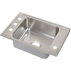 Elkay Lustertone Single Bowl Classroom Sink - DRKAD2517552LM