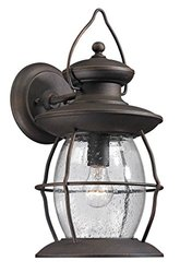 Diamond Lighting Elk Lighting Village Lantern Outdoor - Weathered Charcoal