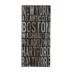 Sterling Industries 51-10114 American Cities Wall Decor