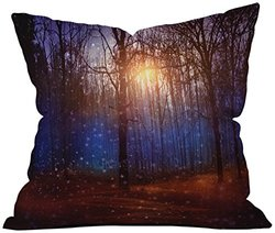 Deny Designs Viviana Gonzalez In Winter Enjoy Throw Pillow - 16 x 16
