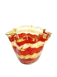 Jozefina Atelier Hand Crafted Amore Bowl - Red Amber