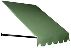 AWNTECH 5 ft. Dallas Retro Window/Entry Awning 24 in. H x 42 in. D in Sage