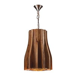 Dimond Home Wooden Retro Pendant - Natural Mango (985-018)