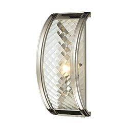 Elk Lighting 31460/1 Chandler Collection 1 Light Sconce - Polished Nickel