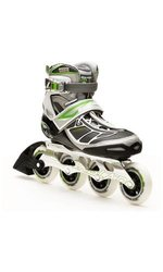 Rollerblade Women's Tempest 90 W Performance Skate - Silver/Green - Sz: 7