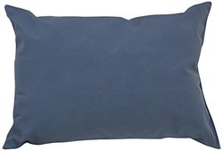 Mansion Solid Outdoor Pillow, 14 by 20-Inch, Dusty Blue