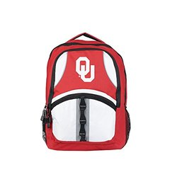 NCAA Oklahoma Sooners Captain Backpack, 18.5-Inch, Red