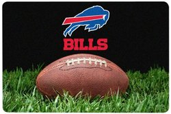 Buffalo Bills Classic NFL Football Pet Bowl Mat - L