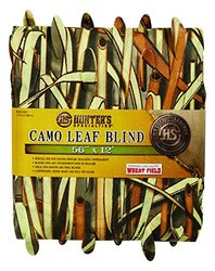 "Hunters Specialties 56"" x 12-Feet Wheatfield Camo Leaf Blind"