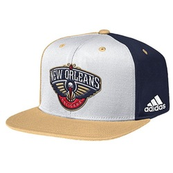 Adidas NBA Men's Team Nation Snapback Cap New Orleans Pelicans - White
