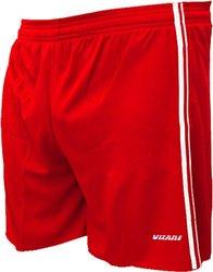 Vizari Campo Adult Unisex Soccer Shorts - Red - Size: XLarge