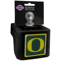 NCAA Oregon Ducks Shin Shield Hitch Cover, Black