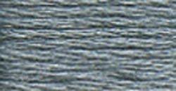 DMC 115 5-414 Pearl Cotton Thread - Dark Steel Grey - Size: 5