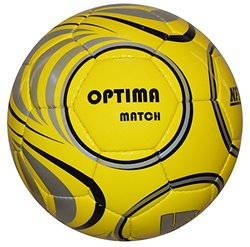 Vizari Optima Match NFHS Soccer Ball - Yellow/Black - Size: 4