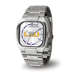 NCAA LSU Tigers Turbo Watch - Silver